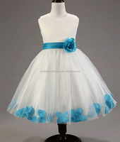 Baby Girl Flower Princess Party Formal Christening Wedding Bridesmaid Tutu Dress