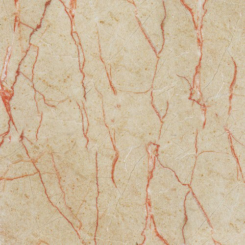 Red Line Cream marble tile,beige marble with red line
