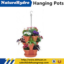 Stackable flower baskets hanging flower baskets wholesale