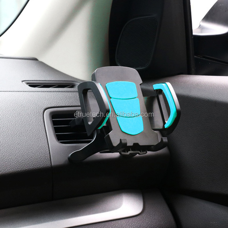 New products portable low price customized multifunction ABS plastic mobile cell phone car holder garmin mount