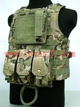 military body armor police vest tactical molle vest