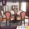 American Neo classical Dining Room Furniture , high end soild Wooden furniture Dining room set