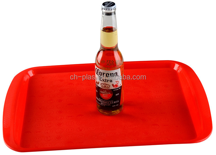 Professional Manufacture Cheap Different Colors Available Anti Slip Plastic Tray