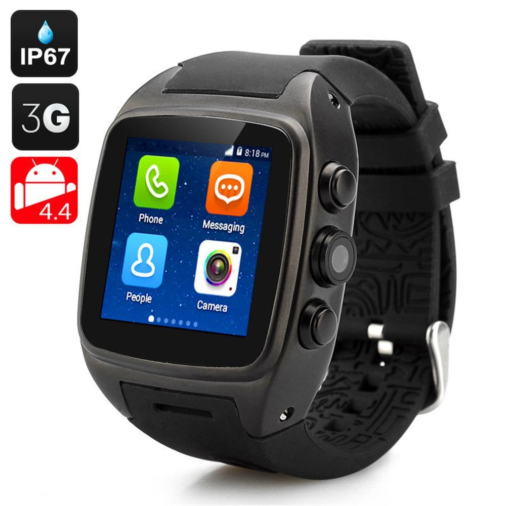 X01 3g android watch phone with wifi Auto Focus GPRS Bluetooth GPS Navigation