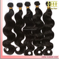 New fashion style 100% virgin caribbean wave human hair Best Selling Body Wave AAAA Grade caribbean remy human hair