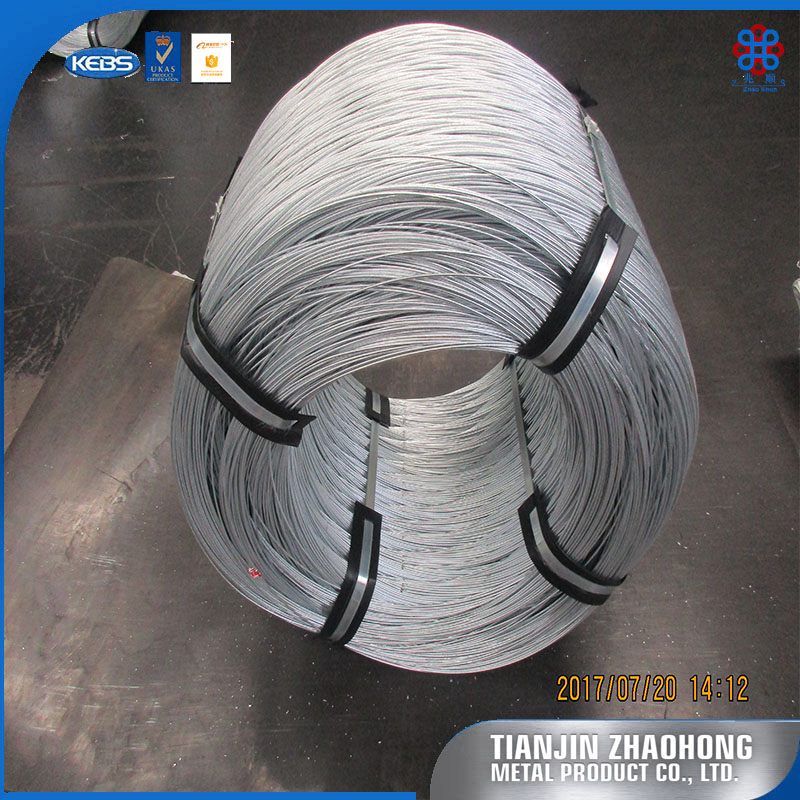 galvanized steel wire for making of yard sign stake