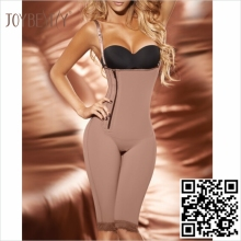 Medical compression garment firming powernet body suits fajate shapewear with size xxxxxxl