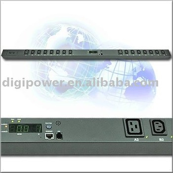 16 ports 230V 32 amp IP PDU- Switched/Monitored power distribution unit