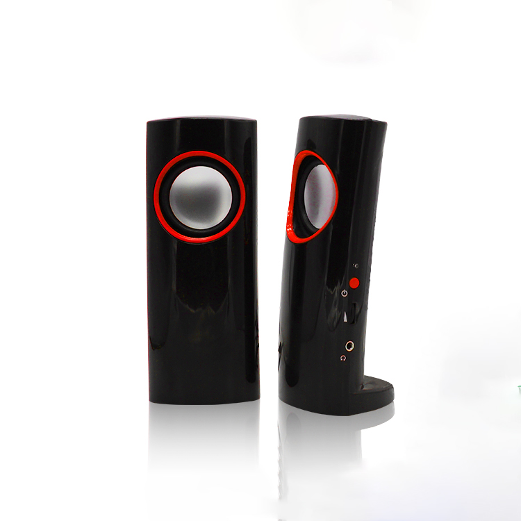 Unique Stereo Sound slim usb speaker 2.0 usb computer speakers, China 2.0 Speaker For Computer Manufacturers & Suppliers