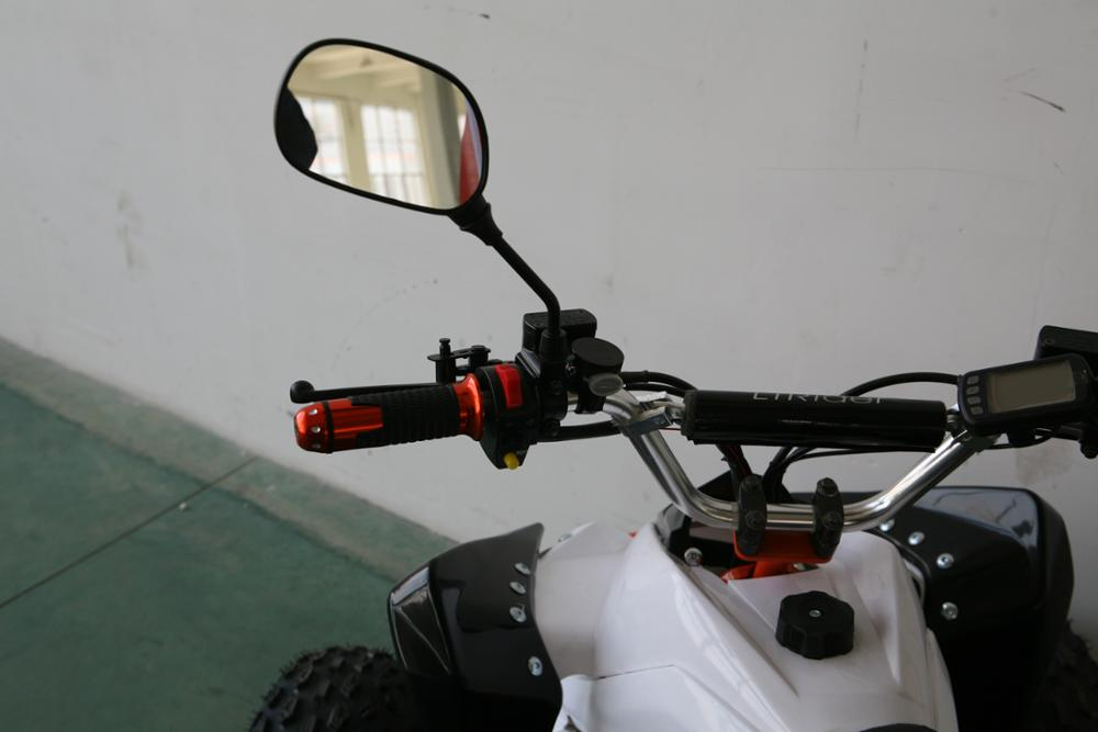 The EPA 4 stroke air-cooled electrical quad atv