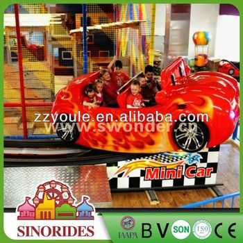 Attraction rides slide ritating car comercial electric car for children,comercial electric car for children