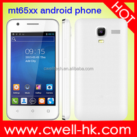 New arrival 4 inch dual sim card android 4.4 OS Low Price Android Mobile Phone