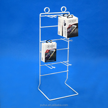 Table Top Iron Wire Metal Display Rack for Cell Phone Magnetic Support