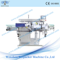 MT-500 Automatic square bottle double-side labelling machine best price