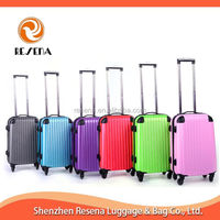2014 ABS Factory Plastic Trolley Case Hard Luggage