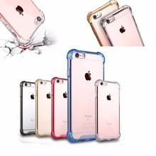 4 Colors Available for iPhone 7 Plus TPU+PC Shockproof Back Case, Samples Available