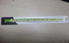 soft Silicone green leaf shaped glassy ballpoint pen
