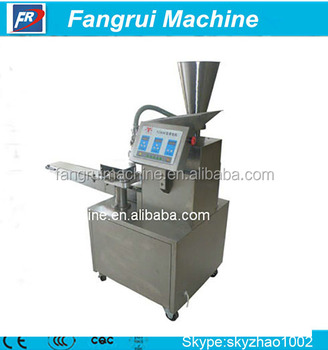 New Green 4800-7200pcs/h Automatic Dumpling Machine Maker/Momo Making Machine for export