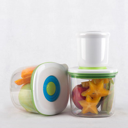 automatic vacuum preservative fruit keeping freshness box crisper food container retain fresh storage box