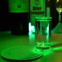 Most attractive drink active led flashing glass