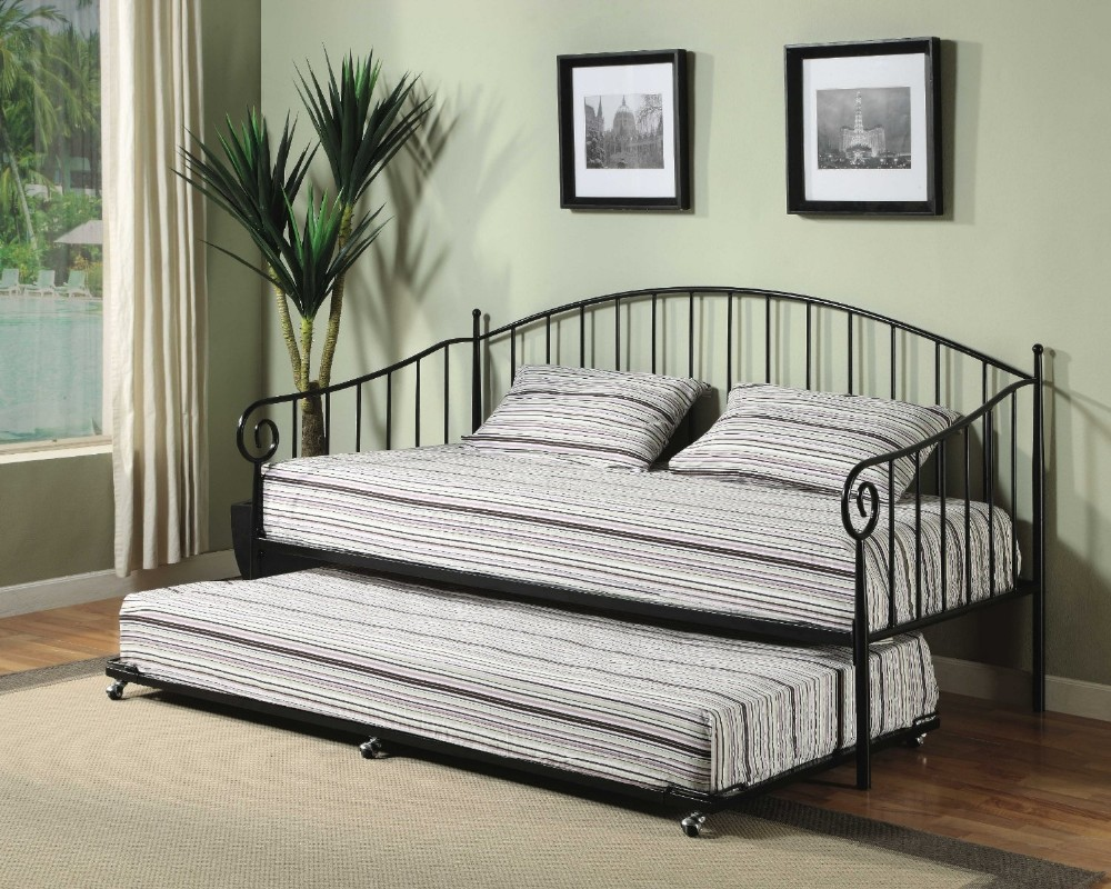Modern Single Design Bedroom Furniture Bed European Style Day Bed