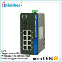 Telecommunication 8 Port Poe Management Switch