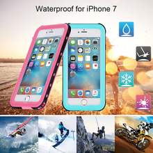 Redpepper Waterproof Cases Wholesale, for iPhone 7 Waterproof Case with Kickstand, Redpepper Waterproof Case for iPhone 7 Plus