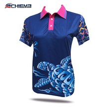 2017New Polo jersey 100 polyester golf shirts