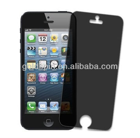 Manufacturer!!! LCD New Arrival for Iphone 5 Privacy Screen Guard with Fashionable Design Packaging,Hot Sale!!!