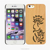 Wood pc case buy custom design cell phone case 4.5 inch phone case