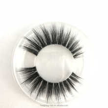 wholesale transparent eyelashes handmade clear band lashes Premium soft clear band faux mink lashes with custom