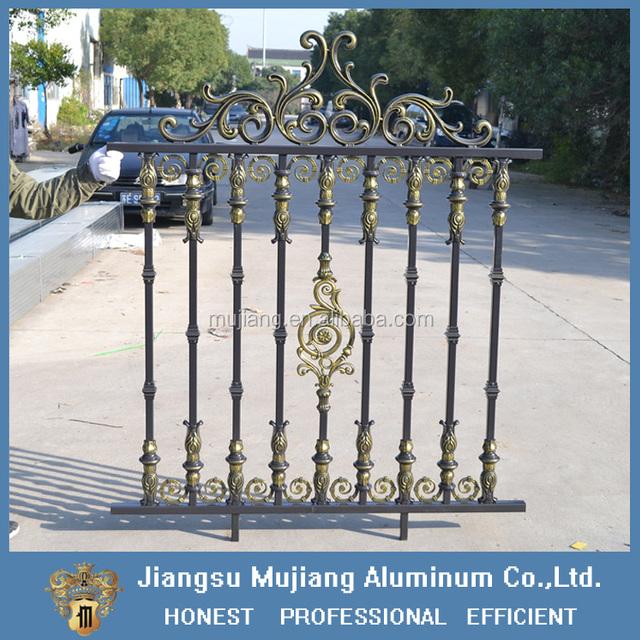 Decorative Aluminum Alloy Garden Fence/Factory Aluminum Fence Panels/morden Aluminum  Fences And Gates