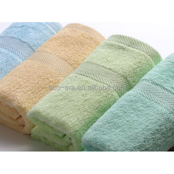 Bamboo Products Wholesale , 100% Bamboo Fiber Baby Towel 26*26cm , Custom Hand Embroidery Design