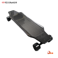 Deo Light weight 7AH 252WH 2.4 G wireless remote lithium 3000W evolve carbon fiber material skateboard