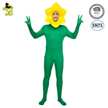 Carnival Adult Flower Jumpsuit Role Play Costumes Fancy Dress Adult Flower Costume