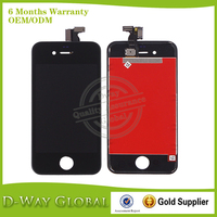 hot selling cell phone lcd for iphone 4s lcd digitizer touch screen assembly spare parts