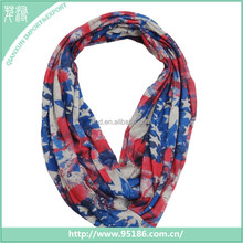 New design american flag jersey infinity scarf