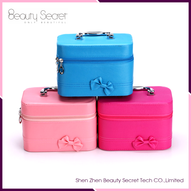 So cute small cosmetic bag mirror,makeup bag with mirror