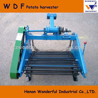 Agriculture machine 1.5m width mini sweet potato harvester for sale
