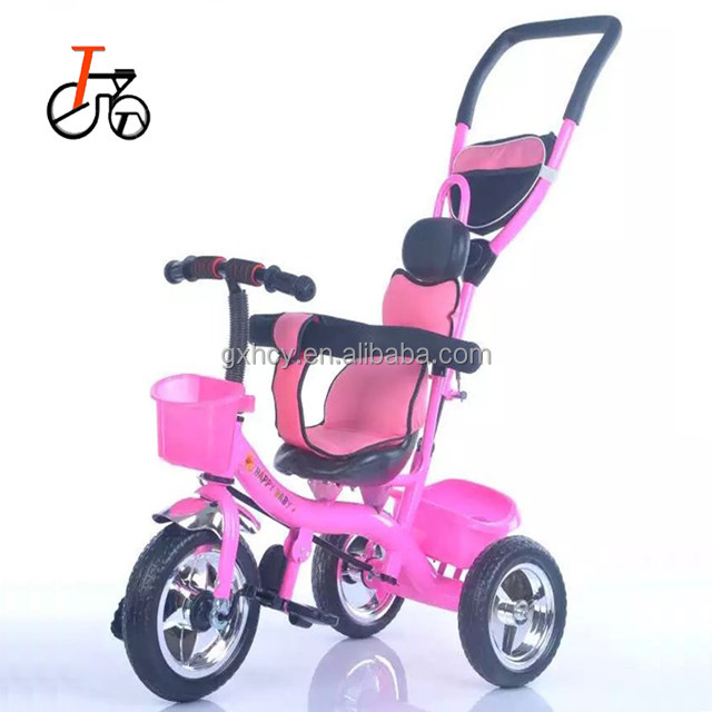 2017new design baby walker tricycle/ baby trike with parent handle
