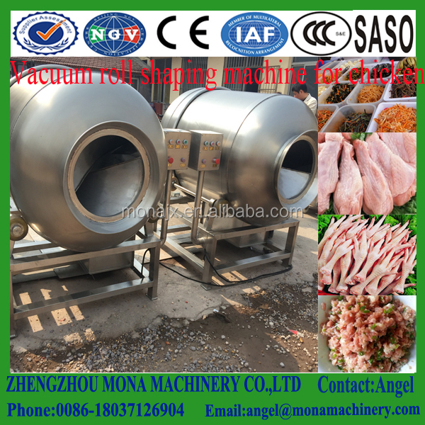 China supply steam curing machine/meat marinating machine/vacuum tumbler Marinades