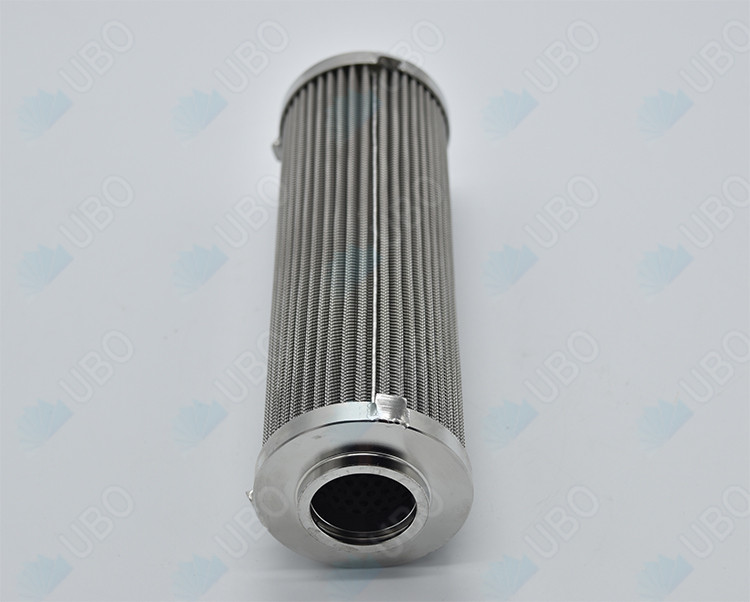Stainless steel pleated metal wire mesh element cartridge for sewage water processing