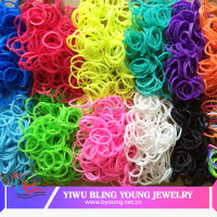 Glow in dark colorful loom bands