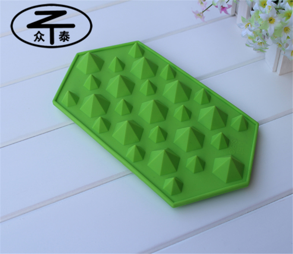 Hot Bar Drink Whiskey diamond shape silicone ice cube tray Ice Brick Cube Maker Tray Mold Mould On Sale Life