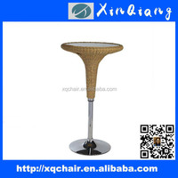 Antique Round Bar Table Cafe Bar