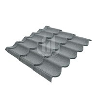 Colorful Stone Alloy Coating Roofing Tile / Weatherproof Roof Sheet for Villa / Euro Standard