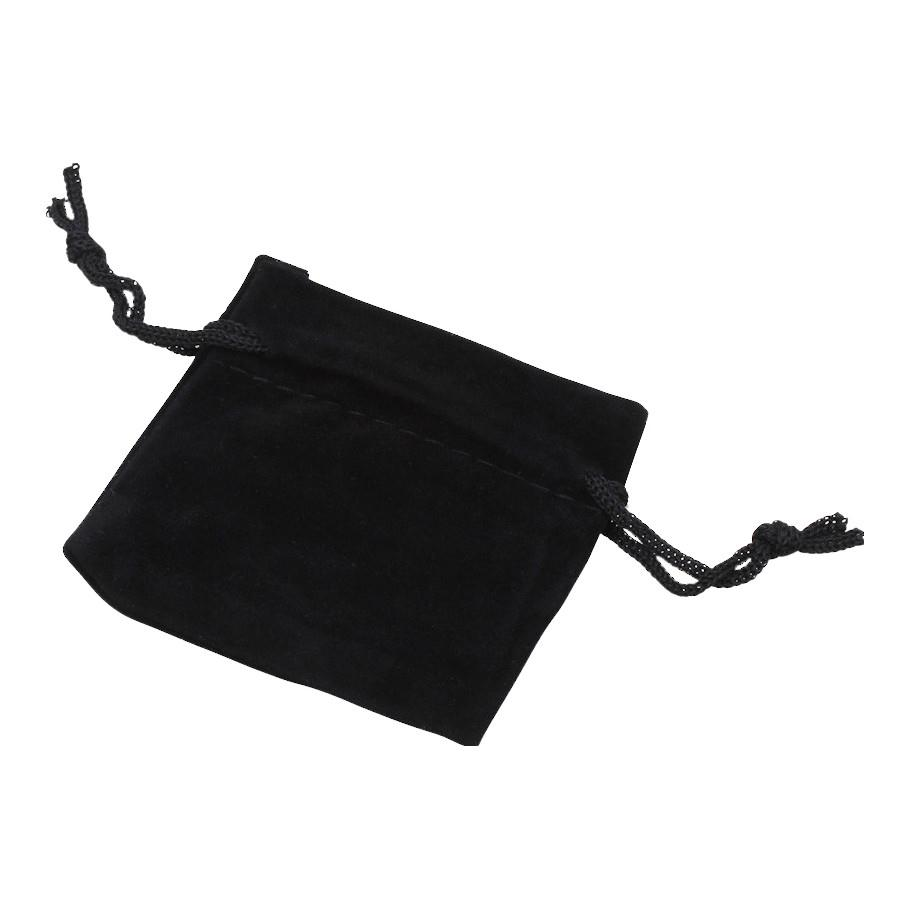 Velvet Bags Pouches Black