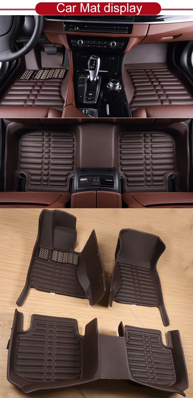 Front anti slip custom full set wholesale car mats