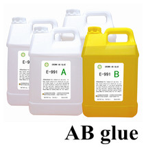 Crystal A/B glue Industry in the machine