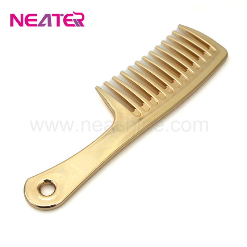 Newest product household wide tooth custom printed combs wholesale